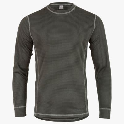 Thermo 160 Long Sleeve Top, Mens, Charcoal Grey