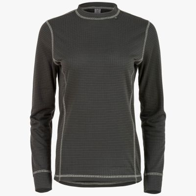 Thermo 160 Long Sleeve Top, Womens, Charcoal Grey