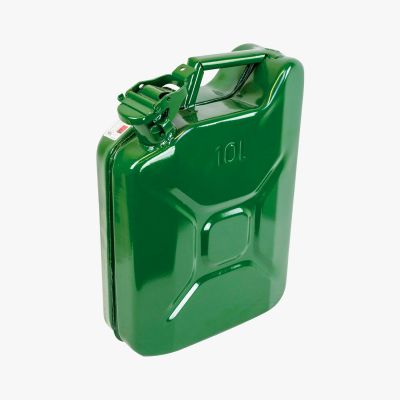 Steel Jerry Can, 10L (locable spout)