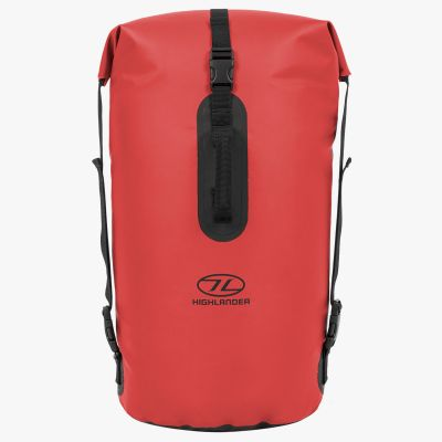 Troon Dry Bag Duffle, Red, 45L