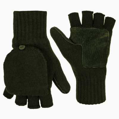 Falher Shooting Mitts, Olive