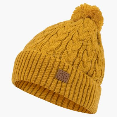 Beira Lined Bobble Hat, Arrow Wood