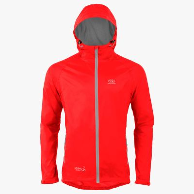 Stow & Go Pack away Jacket, Red