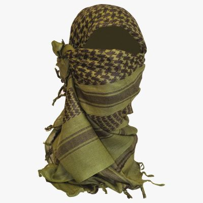 Shemagh Scarf, Olive
