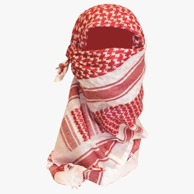 Shemagh Scarf, Red