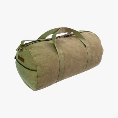 Crieff Canvas Roll Bag, Olive, 45L