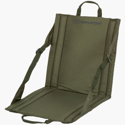 Folding Outdoor Seat, Olive