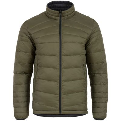 Reversible Insulated Jacket, Black and Olive